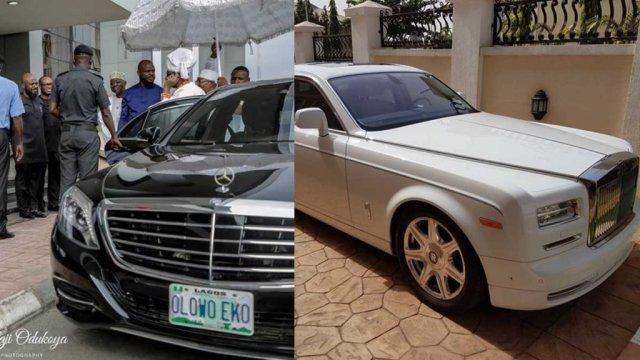 Oba of Lagos cars