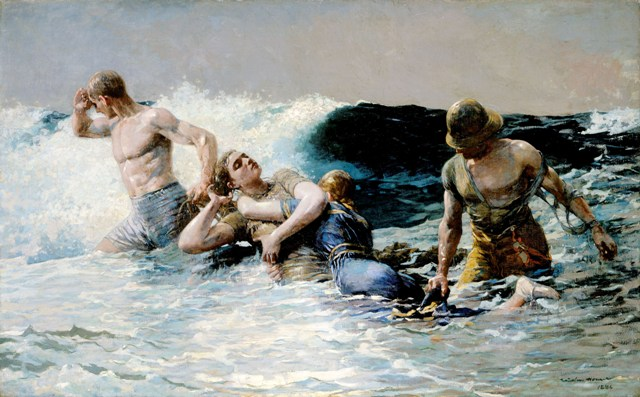 Winslow Homer's Tumultuous Seas and Passive Women (2/4)