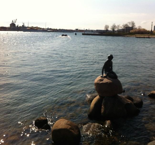 Hans Christian Andersen's 'The Little Mermaid' in Copenhagen