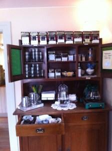 'Fika' tea cabinet