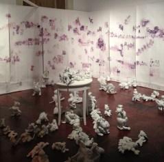 Patricia Singer's installation