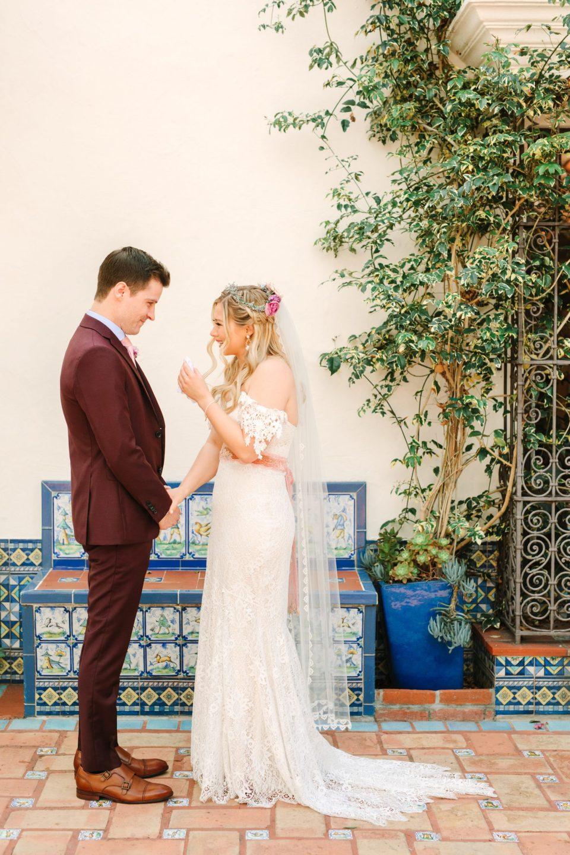 Heartfelt first look at Darlington House San Diego - www.marycostaweddings.com