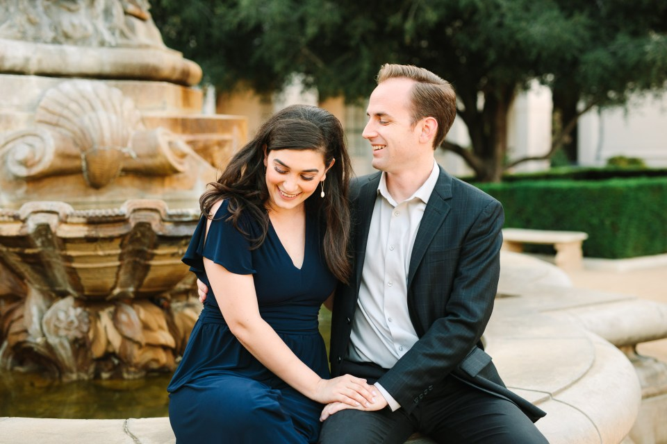 Pasadena engagement session by Mary Costa Photography