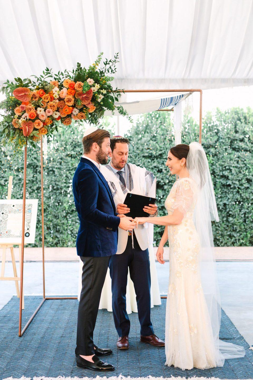 Rolling Greens DTLA wedding ceremony www.marycostaweddings.com