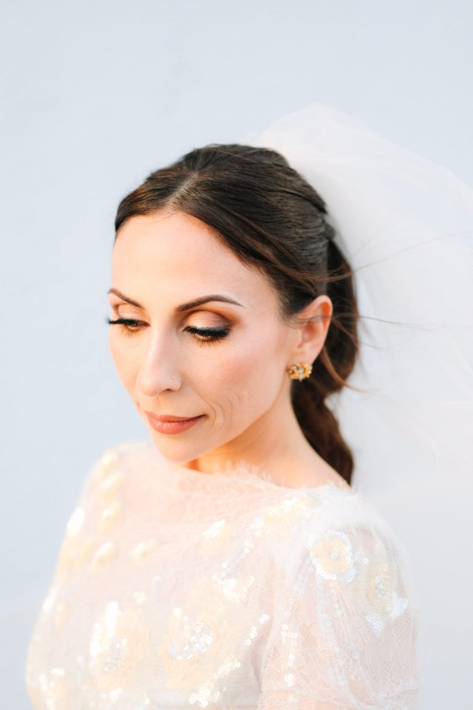 Bridal makeup by James Charles www.marycostaweddings.com