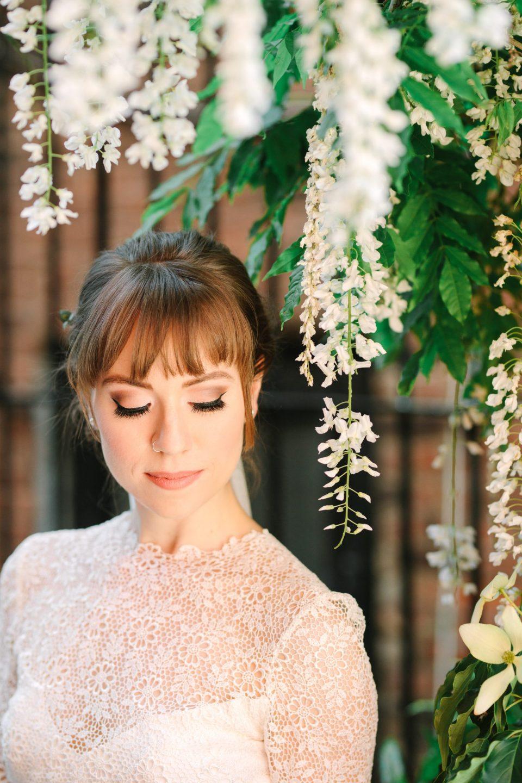 Springtime bride in NYC - www.marycostaweddings.com