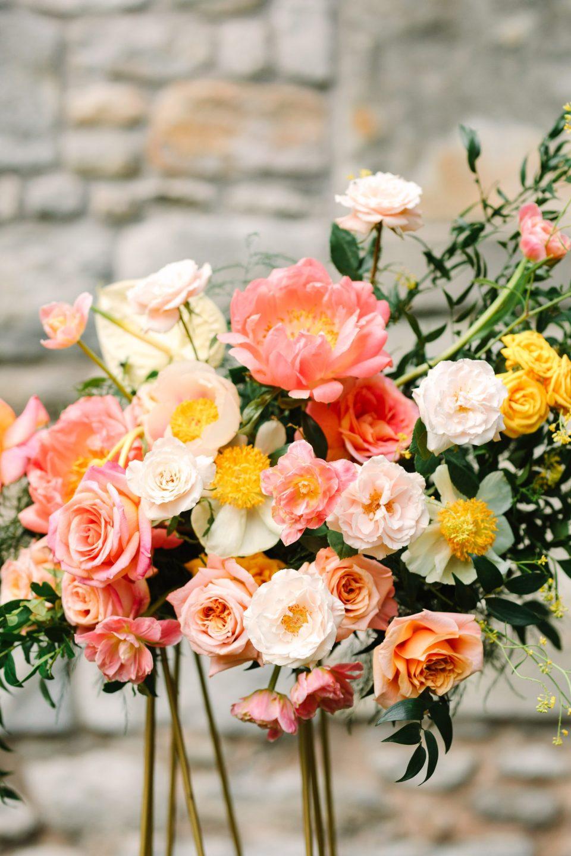 Springtime flowers by Flower Witch NYC - www.marycostaweddings.com
