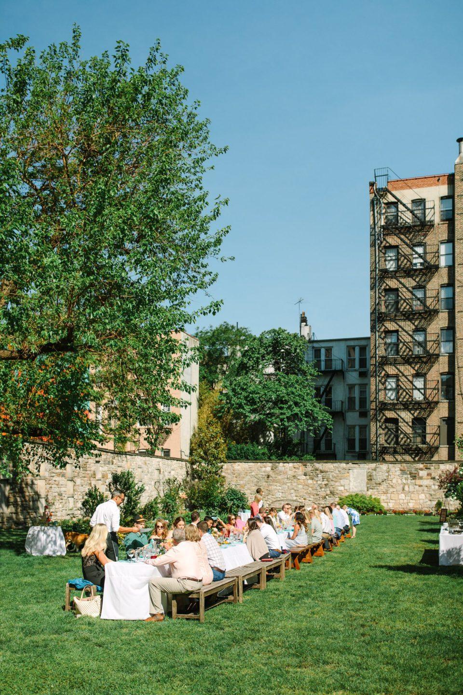 New York Marble Cemetery luncheon micro wedding - www.marycostaweddings.com