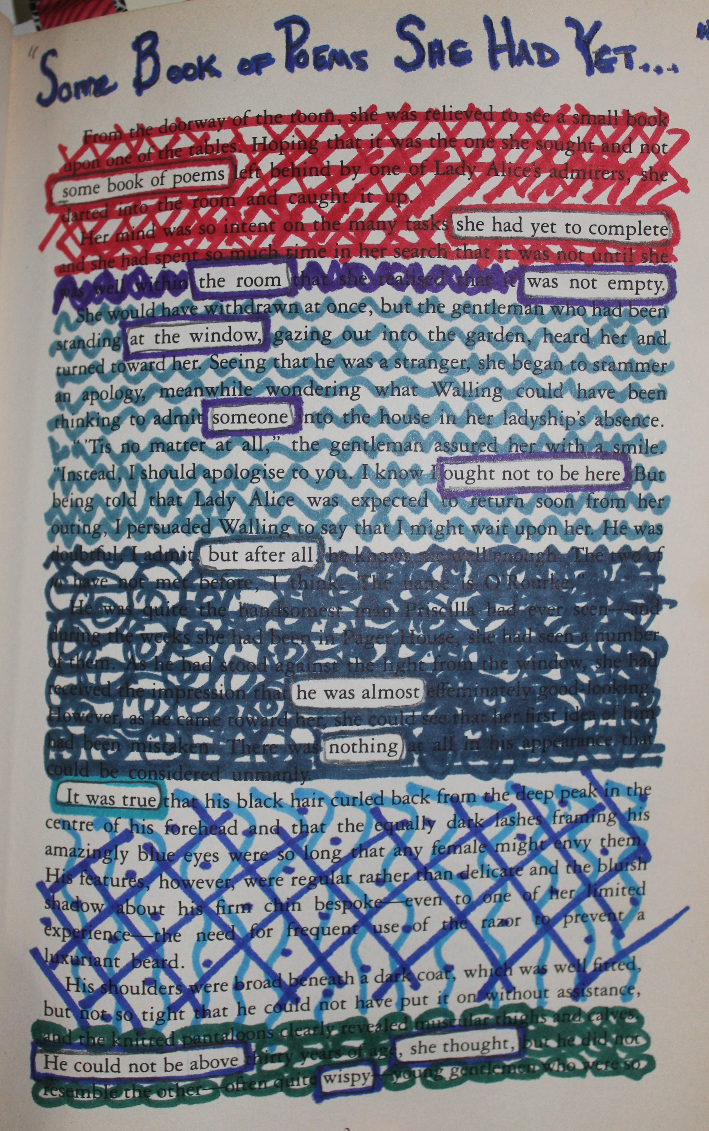 blackout poem the beauty s daughter mary crockett young adult