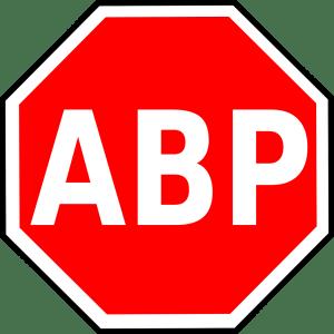 adblockers med förkortning ABP, annonsblockerare på svenska