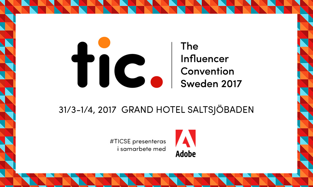 The influencer convention - 31/3-1/4 Grand Hôtel Saltsjöbaden