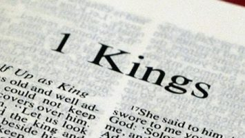 I Book of Kings