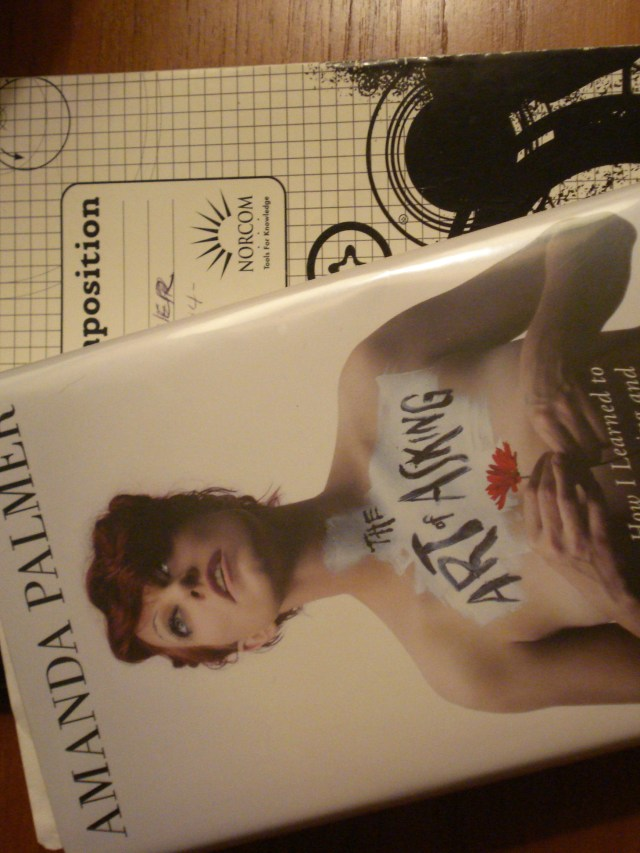"""Book: """"The Art of Asking"""" by Amanda Palmer."""