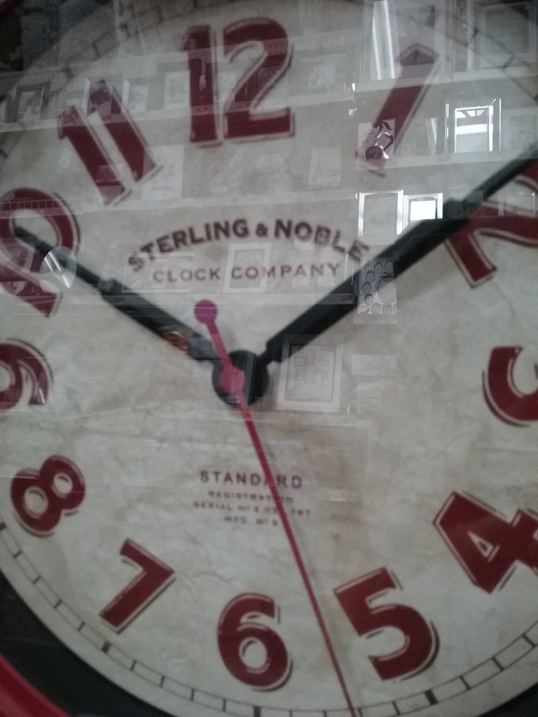 Sterling & Noble Clock Company Standard clock, 2018.