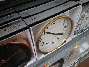 Clock in a box, 2018.