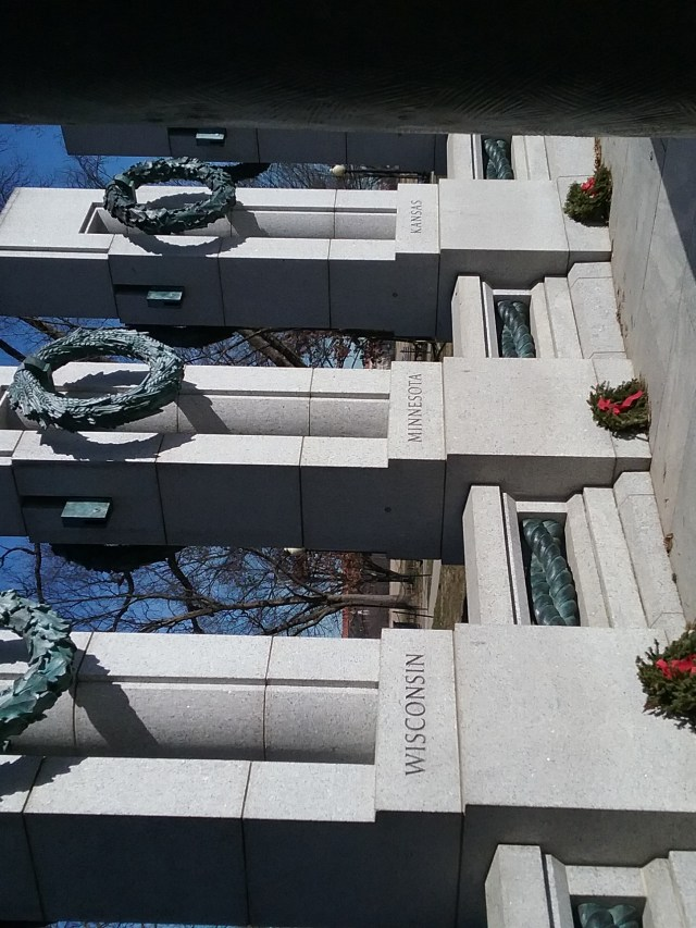 World War II Memorial with the Minnesota section, 2019.
