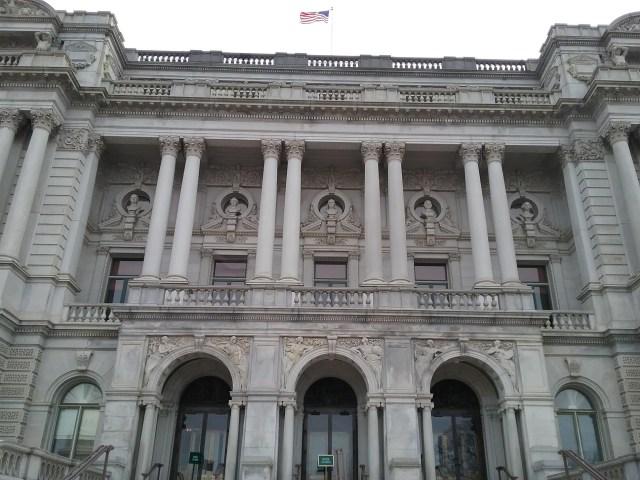 Library of Congress, Thomas Jefferson Building, Washington DC, 2019.