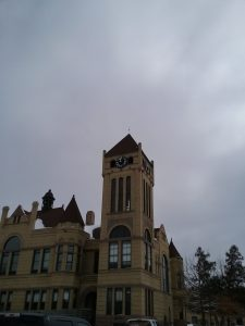 Look! Its another Richardsonian Romanesque courthouse! But this one is not in New Orleans; its in Little Falls, MN, where I'm from, just to show you a comparison with the Richardsonian Romanesque buildings in NOLA. April 2018.