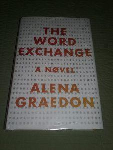 Book: The Word Exchange, a novel by Alena Graedon, copyright 2014.