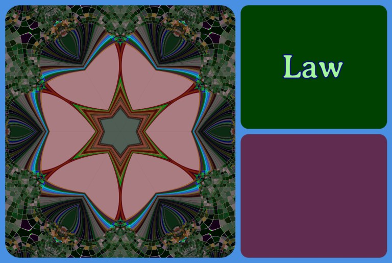 Law tag square