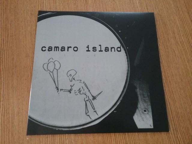 Vinyl record album: Camaro Island.