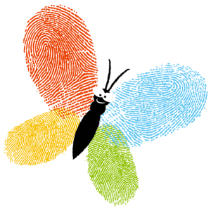 Mary Geary butterfly logo