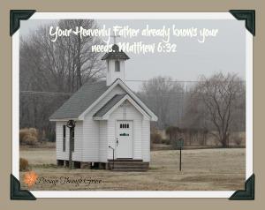 God Provides…The Church Lesson