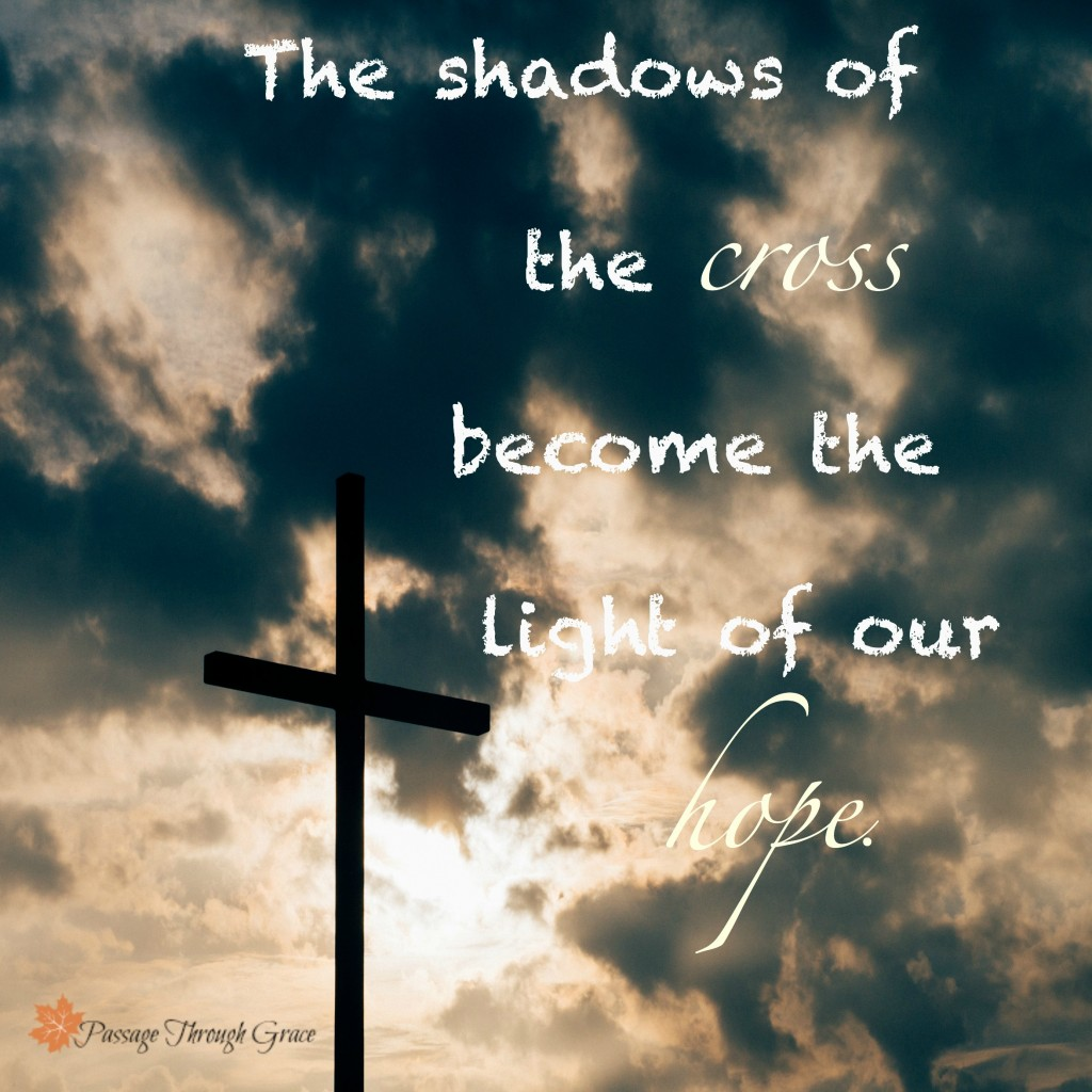 shadows of cross