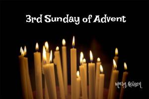 Sabbath Offerings ~ 3rd Sunday of Advent