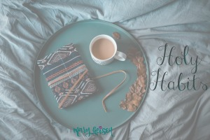 Holy Habits ~ A Guest Post