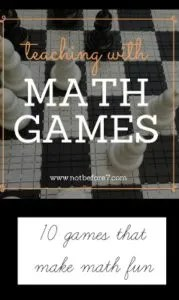 Ten games that make learning fun for all ages.