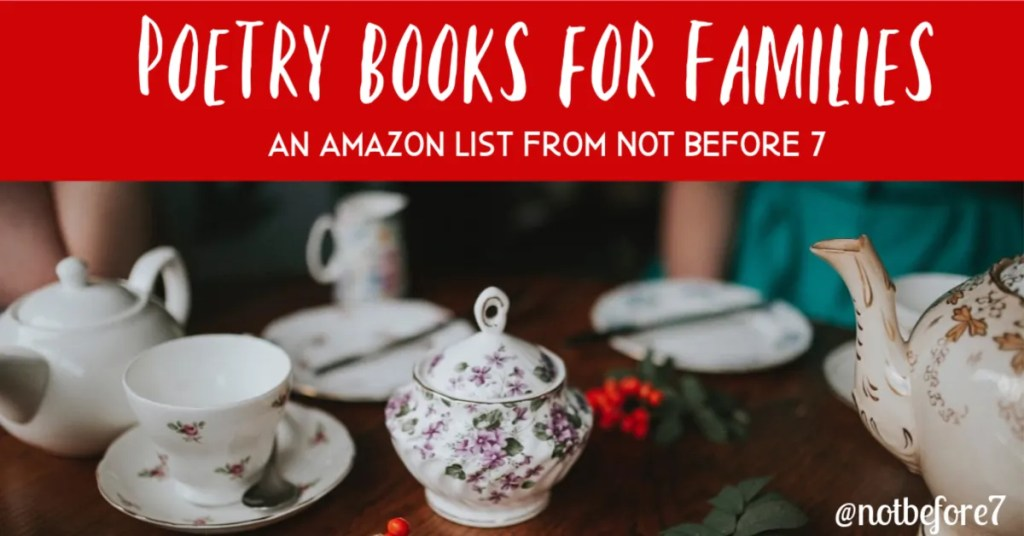 Amazon Poetry Books for Families
