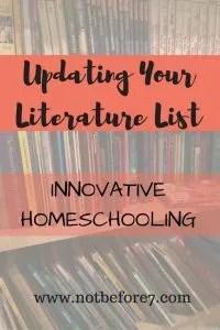 Updating Your Literature List