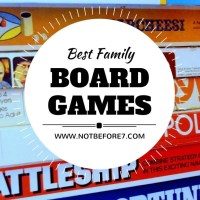 Our Favorite Family Board Games