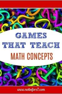 Games that Teach Math Concepts