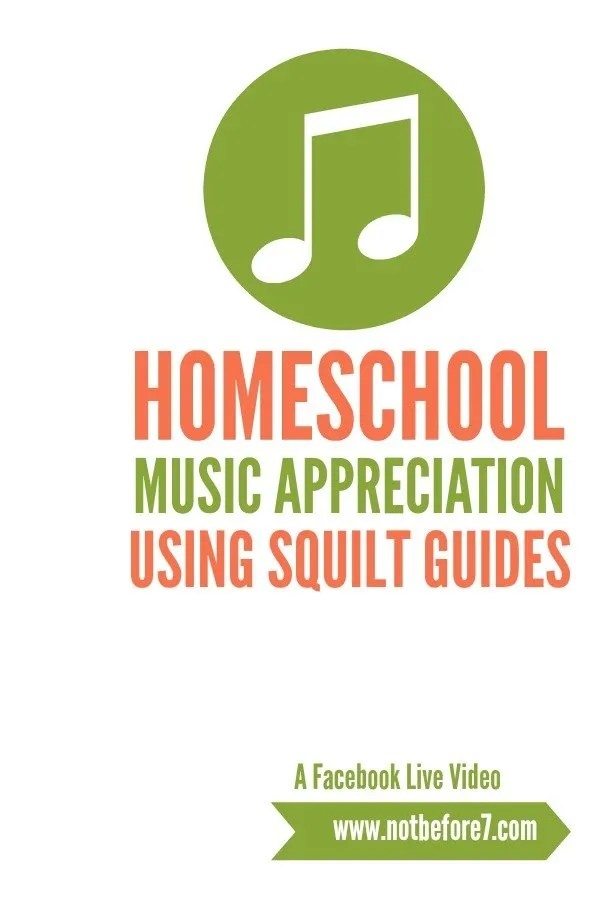 Our plan to use SQUILT music in our homeschool was a success. Check out our music appreciation plan in this video.