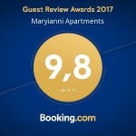 Guest Review awards Booking.com