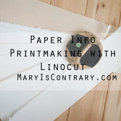 Paper Info: Printmaking with Linocut