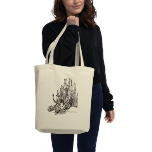 Cactus Lansdscape Printed tote bag available at Mary is Contrary.