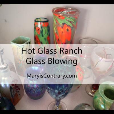 Artist Studio: Hot Glass Ranch- Glass Blowing