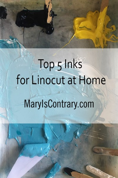 Top 5 Inks for Linocut at Home