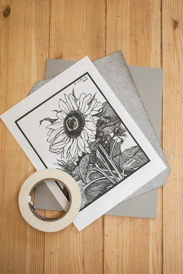 Mary is Contrary Printables sunflower