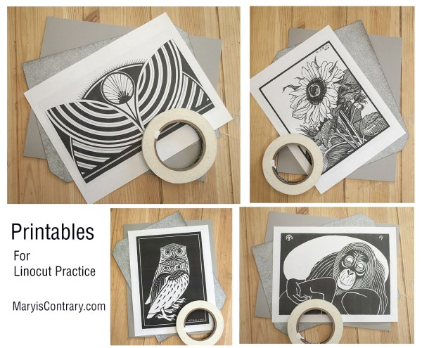 Mary is Contrary Printables