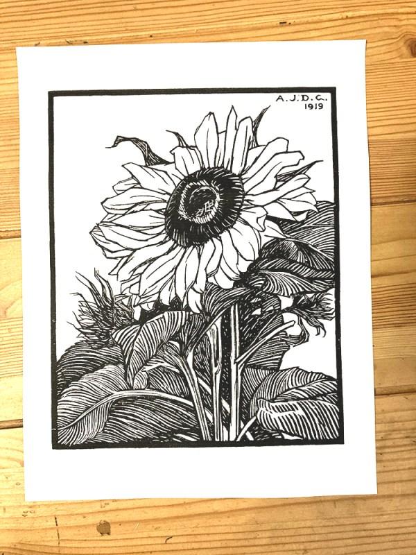 Sunflower printable