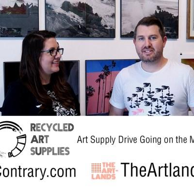 Art Supply Drive – August 2021