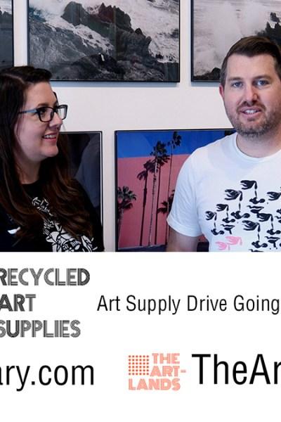 art supply drive