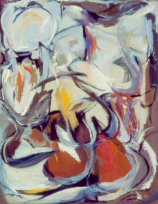 """36 1⁄4"""" x 28 5/8"""" Oil on Canvas - Framed 🔴"""