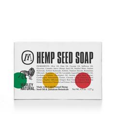 Marley Natural Hemp Seed Soap 4.5 oz.