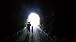 A day when there's light at the end of the tunnel