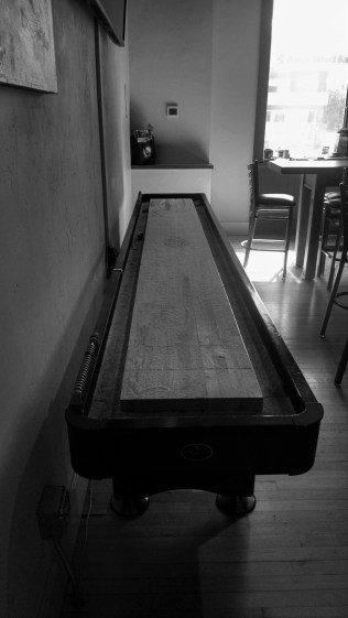 Antique shuffleboard